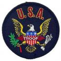 U.S.A. Troop Patch