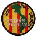 Vietnam God/Duty/Country Patch