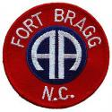 Army 82nd Airborne Ft Bragg Patch