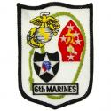 6th Marines Patch