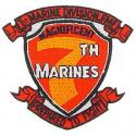 7th Marines Patch