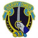 Army 7th Cavalry Regiment Patch  Garry Owens