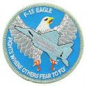 Air Force F-15 Eagle Patch