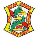 1st Battalion 4th Marines Patch