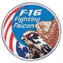 Air Force F-16 Fighting Falcon Patch