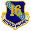16th Air Force Patch
