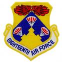 18th Air Force Patch