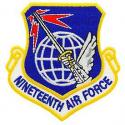 19th Air Force Patch