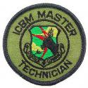 Air Force ICBM Master Techinician Patch