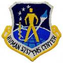 Air Force Human Systems Center Patch
