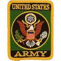Army Logo Rect. Patch