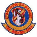 USMC Walking Dead (1st Battalion) Patch