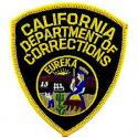California Dept of Corrections Patch