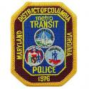 District of Columbia Transit Police Patch