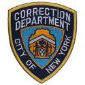 New York City Correction Patch