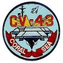 Navy Coral Sea Patch