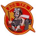 Air Force 303rd TFS Patch