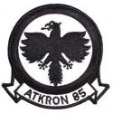 Black Falcons VA-85 Navy Patch