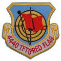 Air Force 4440 TFTG Red Flag Patch