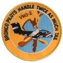 USMC VMO-2 Bronco Patch