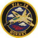 F/A - 18 Hornet Patch