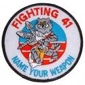 Black Aces VF-41 Navy Patch