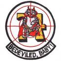 Bedevilers VF-74 Navy Patch