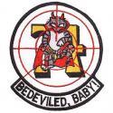 Bedevilers VF-74 Navy Patch