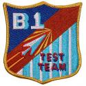 Air Force B-1 Test Team Patch