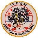 Black Aces/Swordsmen VF-41 VF-32 Navy Patch