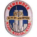 911 Remember Patch