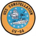 Navy USS Constellation Patch