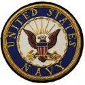 Navy Logo Patch