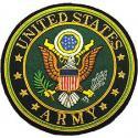 Army Crest Gold Bullion Patch