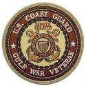 Coast Guard Gulf War Veteran Patch