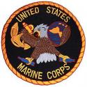 Large USMC Logo Patch