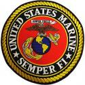 Large USMC EGA Logo Patch