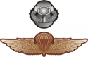 USMC Recon Combo Jump Wings/Scuba Decal