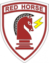 Red Horse Decal