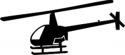 Robinson 22 Helicopter Decal