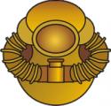 Scuba Diver (Gold)