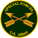 Special Forces Branch Plaque Decal
