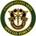 Special Forces Round Decal