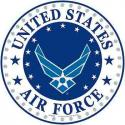 USAF  Logo ALUMINUM Sign