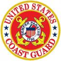 Coast Guard ALUMINUM Sign