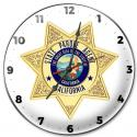 California State Parole Clock.  (With Badge Number) Or you can leave it blank