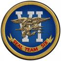 "US NAVY SEAL TEAM SIX all metal Sign 14"" Round"