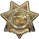 California Highway Patrol (Assistant Chief ) Badge all Metal Sign with your badg