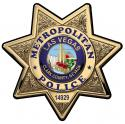 Las Vegas Metro (Officer) with your Badge All Metal Sign.