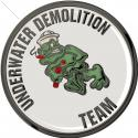 Naval Special Warfare Underwater Demolition Team with your Team Number all metal